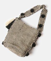 WYTHECHARM/手織りジャガードショルダーバッグ(ジグザグ柄)/503416136
