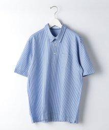 green label relaxing/CSN ドライサッカー ボタンダウン SS ポロシャツ/503120643