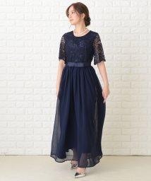 Lace Ladies/ウエストリボンロングパーティドレス・ワンピース/503355846