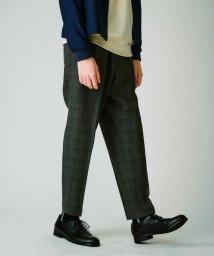 tk.TAKEO KIKUCHI/360度ストレッチ ワイドテーパードパンツ/503370271