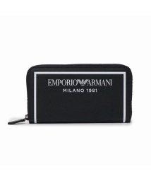 EMPORIO ARMANI/【メンズ】EMPORIO ARMANI Y3H168 YSO3I ラウンドファスナー長財布/503406271