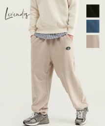 LEVENDIS/カジュアル ワイド ジョガーパンツ/503412755