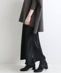 IENA/サテンスリットスカート◆/503416945