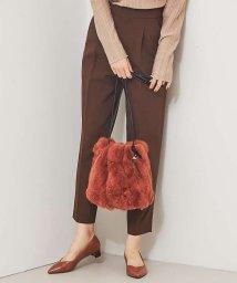 LOWELL Things/【秋冬新作】レッキスファー巾着バッグ【予約】/503418075