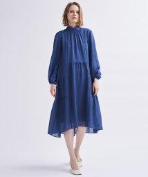 LANVIN en Bleu/楊柳ギャザーワンピース/503344930
