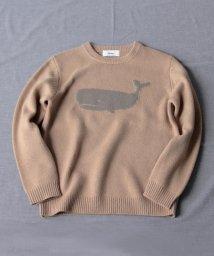 NOLLEY'S goodman/【WEB限定カラーあり】クジラ インターシャ プルオーバーニット/503400702