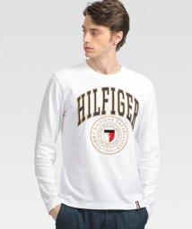 TOMMY HILFIGER/シールドロゴ ロングスリーブ Tシャツ/503403781