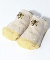 petit main/アニマル刺しゅう配色カップソックス/503408205