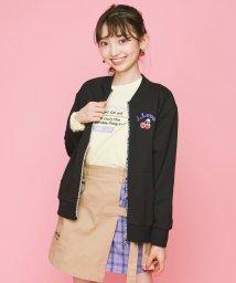 JENNI love/ミニ裏毛ロゴZIPブルゾン/503417776