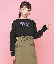 JENNI love/ロゴテープレースアップロンT/503417781