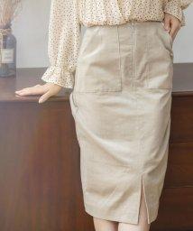 Mew's/ストレッチコーデュロイタイトスカート/503418176