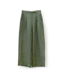 marjour/LINEN WIDE PANTS/503419657