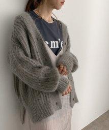 ROPE' mademoiselle/【DANVELION】モヘアニットカーディガン/503419730