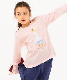 SHIPS KIDS/SHIPS KIDS:バックフリル チュール プリント TEE(100~130cm)/503421600