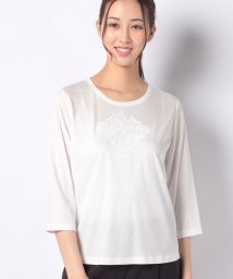 Leilian/【ROCHAS Premiere】Tシャツ/503392775