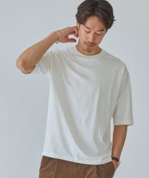green label relaxing/SC ☆ LOTUS クロス クルーネック 5分袖 カットソー Tシャツ 2 #/503400538