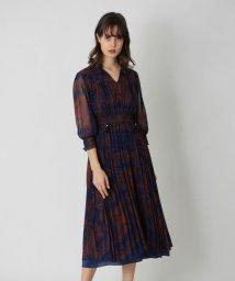 LOVELESS WOMEN/シフォン ペイズリー レイヤード ドレス/503404061