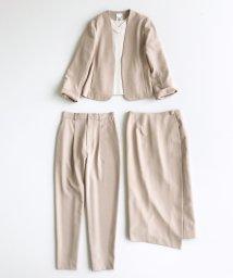 haco!/いざというとき困らないための 大人のフォーマル裏地付きジャケット・パンツ・スカート3点セット by que made me/503409734
