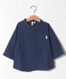 LAGOM/【lagom】7分袖バンドカラーシャツ/503411672