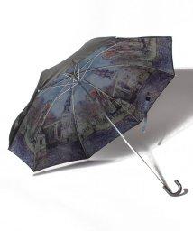 axes femme/水辺の教会柄晴雨兼用折傘/503415186