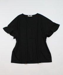 CLEAR IMPRESSION/《musee》フロントタックスキッパーTシャツ《接触冷感》/503421928