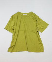 CLEAR IMPRESSION/《musee》ワイドシルエットポケットTシャツ《接触冷感》/503421933