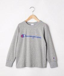 SHOO・LA・RUE(Kids) /【130-160cm】【Champion】ロゴプルオーバー/503422218