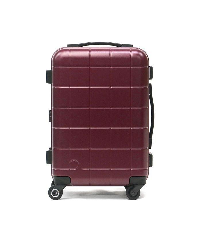 ギャレリア プロテカ スーツケース PROTeCA キャリーケース CHECKER FRAME チェッカーフレーム 機内持ち込み 35L 1泊 2泊 エース 00141 ユニセックス ワイン F 【GALLERIA】
