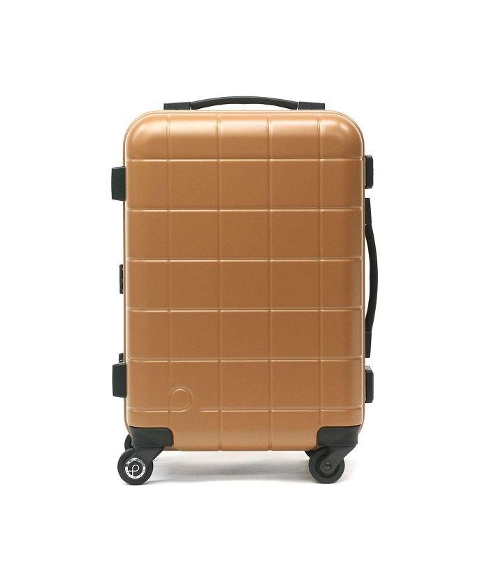 ギャレリア プロテカ スーツケース PROTeCA キャリーケース CHECKER FRAME チェッカーフレーム 機内持ち込み 35L 1泊 2泊 エース 00141 ユニセックス ライトブラウン F 【GALLERIA】