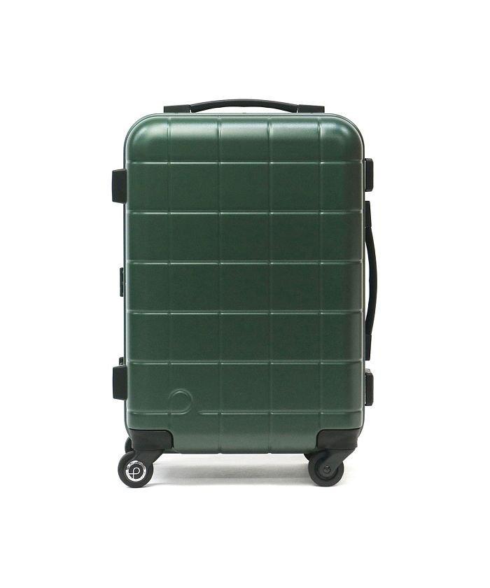 ギャレリア プロテカ スーツケース PROTeCA キャリーケース CHECKER FRAME チェッカーフレーム 機内持ち込み 35L 1泊 2泊 エース 00141 ユニセックス グリーン F 【GALLERIA】