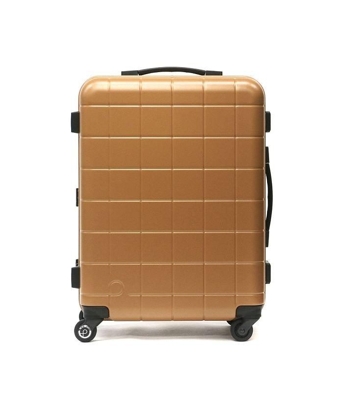 ギャレリア プロテカ スーツケース PROTeCA キャリーケース CHECKER FRAME チェッカーフレーム Mサイズ 54L 3泊 4泊 5泊 エース 00142 ユニセックス ライトブラウン F 【GALLERIA】