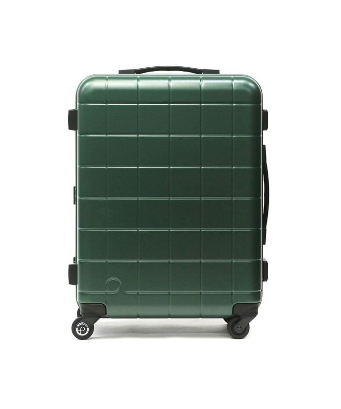 ギャレリア プロテカ スーツケース PROTeCA キャリーケース CHECKER FRAME チェッカーフレーム Mサイズ 54L 3泊 4泊 5泊 エース 00142 ユニセックス グリーン F 【GALLERIA】
