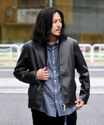 SHIPS MEN/SC: Synthetic Leather シングルライダース ジャケット/503423384