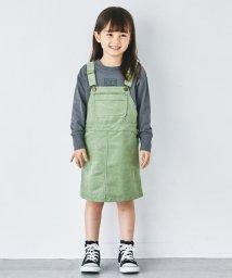 green label relaxing (Kids)/【キッズ】コーデュロイジャンパースカート/503406006