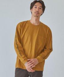 green label relaxing/別注 マンハッタンポーテージ Manhattan Portage SLV ロゴ ポケット Tシャツ/503411990