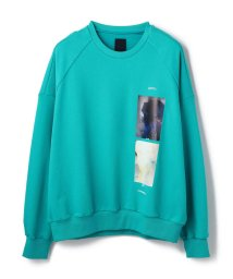 LHP/JUUN.J/ジュンジー/SWEAT LIGHTBLUE/503423633