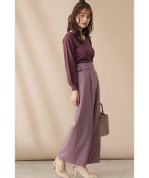 PROPORTION BODY DRESSING/サイドバックルワイドパンツ/503424164