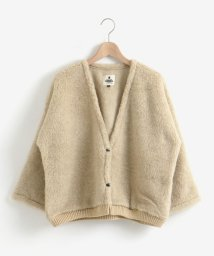le.coeur blanc OUTLET/Cold BreakerショートボアVノーカラーコート/503425555