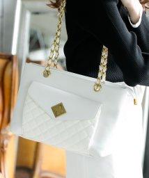 Julia Boutique/キルティングチェーントートバッグ/20582 レディース バッグ かばん 鞄 キルティング チェーン/503425692