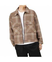 MAC HOUSE(men)/Urban Collection アーバンコレクション TRPUジップジャケット チェック 304108MH/503425847