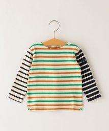 SHIPS KIDS/SHIPS KIDS:パターン ボーダー バスクシャツ(80~90cm)/503426025