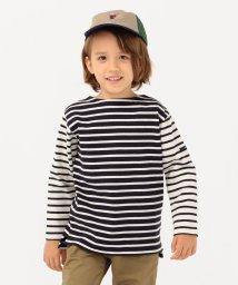 SHIPS KIDS/SHIPS KIDS:パターン ボーダー バスクシャツ(100~130cm)/503426027