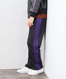 417 EDIFICE/【NEEDLES / ニードルズ】 TRACK PANT POLY SMOOTH/503427385