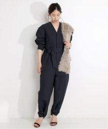 VERMEIL par iena/gentleワークカットジャンプスーツ◆/503427386