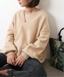 JOURNAL STANDARD/《予約》ウールカシミヤスキッパーニット◆/503427392