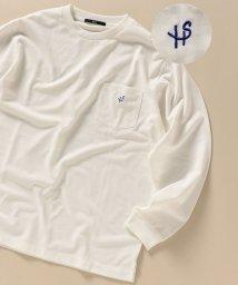 SHIPS MEN/WEB限定: 吸水速乾・UVケア ワンポイント ロゴ ポケット ロングスリーブ Tシャツ/503427394