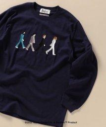 SHIPS MEN/WEB限定: THE BEATLES ロングスリーブ Tシャツ/503427401