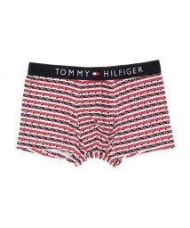 TOMMY HILFIGER/トミーヒルフィガー TOMMY HILFIGER プリント コットン ボクサー【返品不可商品】 (レッド)/503427551