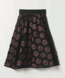 LANVIN COLLECTION/円形モチーフフレアスカート/503194570