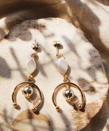 Phoebe+/【Sfy】baroque perl goldピアス/503406434